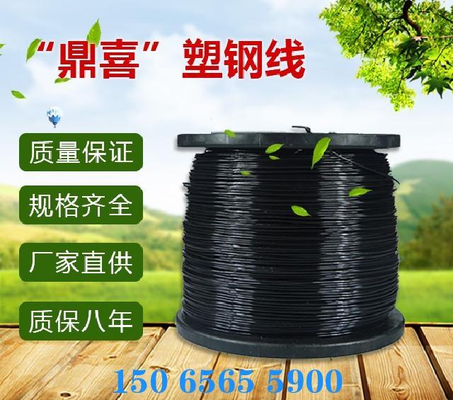 黑色4.0MM塑钢线